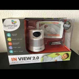 Summer infant In View™2.0 Color Baby Video Monitor
